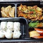 เบนโตะ ข้าวเนื้อผัดกิมจิ