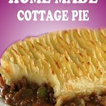 Home Made Cottage Pie with Veg & Gravy