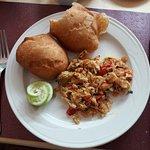 Saltfish and bakes