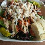 Delicious Crab Louie Salad