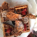 chicken and waffles, for the win!