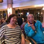 在Bar參與晚間活動,記得是猜謎遊戲與卡拉OK大賽!