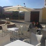 Espectacular terraza & clientes contentos!