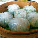Broccoli & corn dumplings
