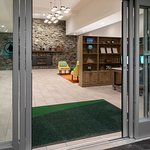 With the new automatic lobby doors and new luggage carts, it just got easier to get your items into the hotel