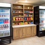 Our lobby Sweet Shop features cool beverages, a variety of chips, and candy bars, along with ice cream