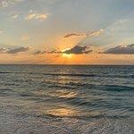 Asado night at sunset