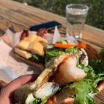 Shrimp BLT. Epic aioli.