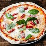 Tomato & Cheese  Buffalo mozzarella, cherry tomatoes, fresh basil, parmesan and black pepper