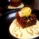 Brownies chocolat aux fruits Secs et Mousse à l'Orange