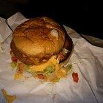 Een soort kipburger