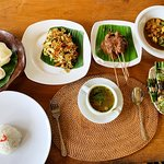 Our Balinese feast!