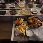 Beer on the wings. Good beer, good food and good whiskylist.
