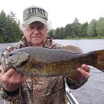 Small mouth bass is exceptional in the Spring