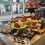 main cake display