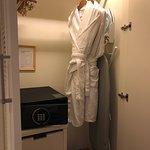 Sheraton Grand Macao Hotel - closet, safe and bath robes