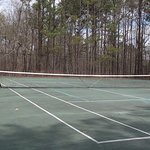 Tennis courts, Red Top Mountain State Park