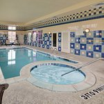 Indoor heated pool & Hottub