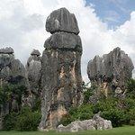 La foresta di pietra nei pressi di Kunming