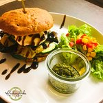 Heiße Brotzeit mit mediterranen Gemüse