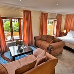 Dalens Self Catering Apartments six lounge and bedroom