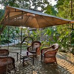 Dalens Self Catering Apartments with various areas to relax and read a book