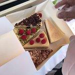 plusieurs saveurs de cheesecake !