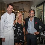 Jules Coulaud for Bordeaux Wine Dinner with Story owners Carl and Susan Thorne-Thomsen