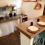 Cozinha Bungalow Azul