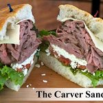 Our Carver Sandwich.  All sandwiches are also available as wraps.
