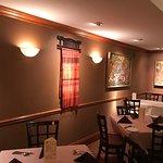 A corner of the restaurant
