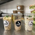 assortment of ready meals to go