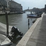 One of the canals on Murano