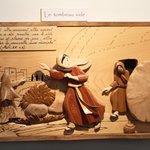 Chemin de vie – Scènes de l'évangile en bois sculpté de différentes essences par Gérard Rougemont (Moirans en Montagne)