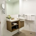 Bathroom in our newly renovated Executive Rooms