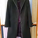Customized Overcoat with Silver trimming