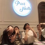 Wonderful afternoon at PRIVE NAILS #1 in VIETNAM