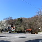 We're located near the road heading up the Učka mountain.