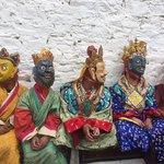 Scene from Paro Tsheehu Festival