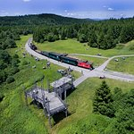 Whittaker Station - one of the Cass Scenic Railroad State Park's scenic train excursions!