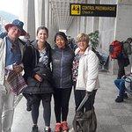 Familia Fraumeni, quedo encantado por su visita a Machupicchu.