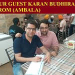 OUR GUEST FROM (AMBALA)