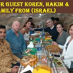 OUR GUEST FROM (ISRAEL)