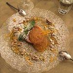 Orange cake for dessert!