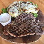 Delicious T-Bone Grilled