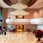 The stunning Harbour Grand  Hong Kong foyer