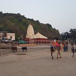 Famous Ganesha Temple from beach