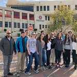 Ramallah and Rawabi Tour with students from Elon University, The Martha and Spencer Love School of Business.