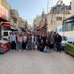 Ramallah Tour with students from Duke University, School of Law.