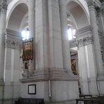 The white columns